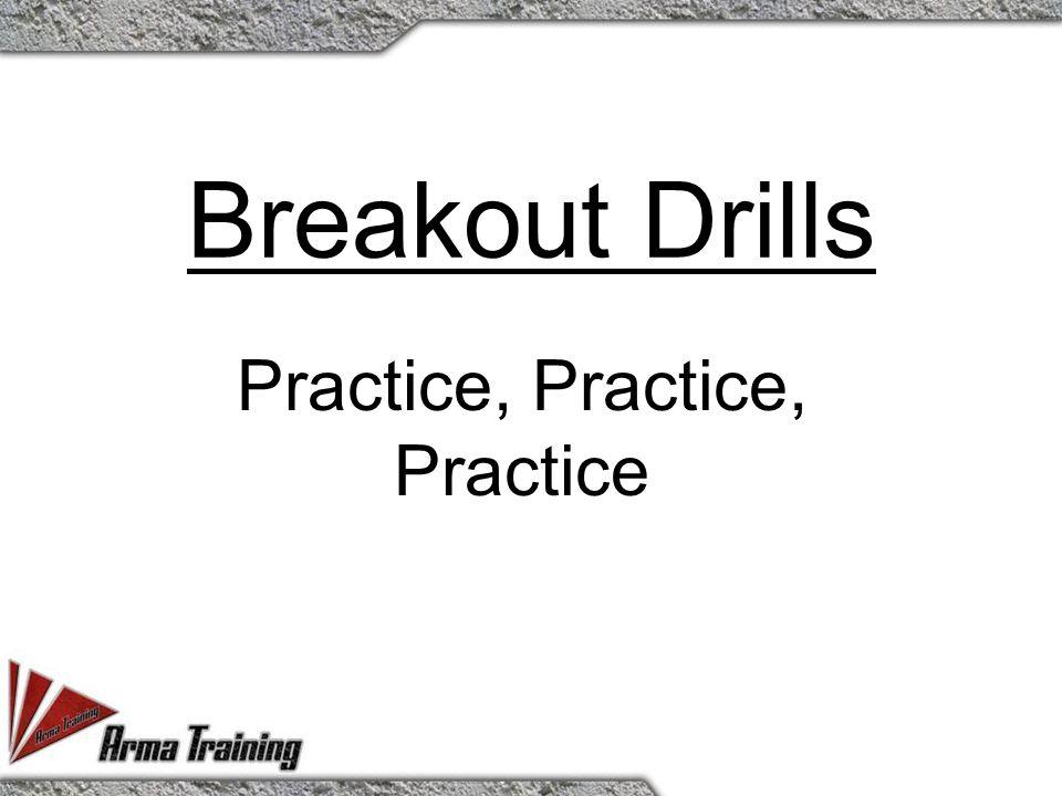 Breakout Drills Practice, Practice, Practice