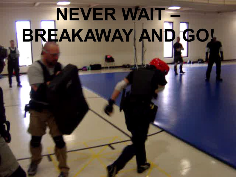 copyrighted 1992 by Dave Young77 NEVER WAIT – BREAKAWAY AND GO!