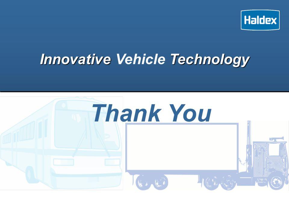 Innovative Technology Innovative Vehicle Technology Thank You