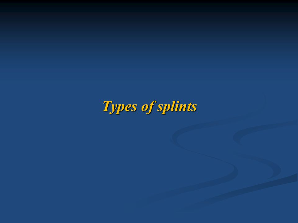 Usage of static or dynamic splinting depends upon the stage of tissue healing.