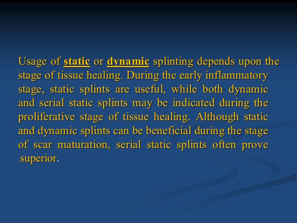 Static Splint