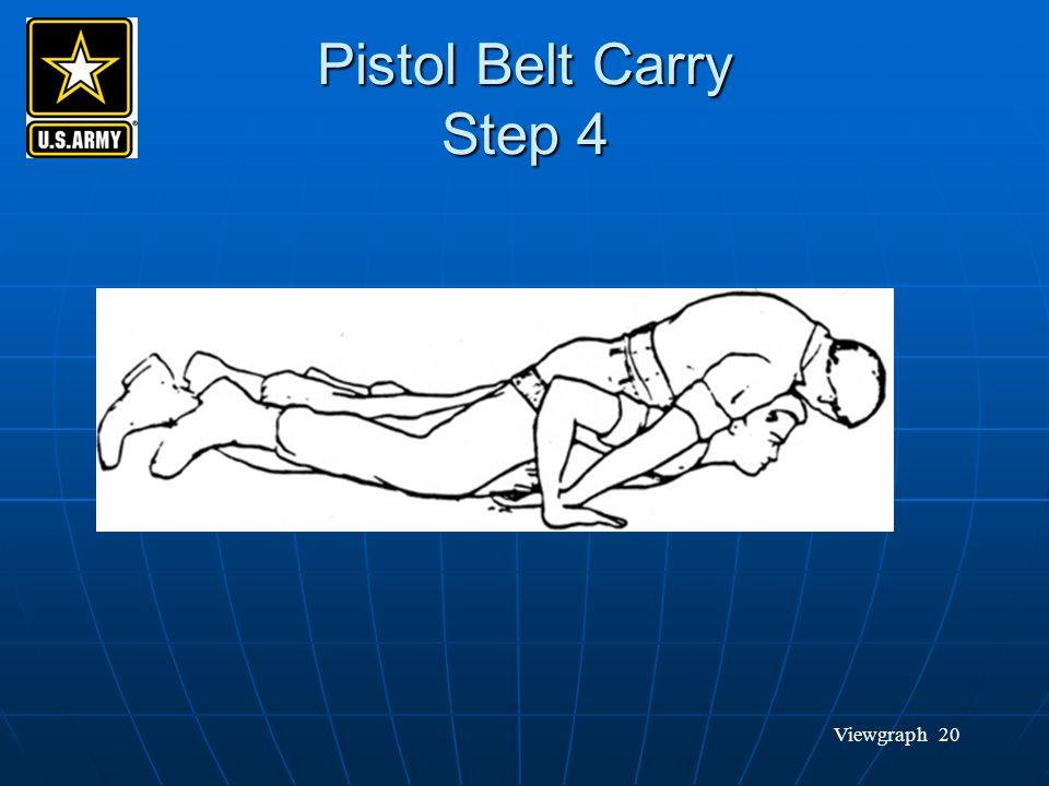 Viewgraph 20 Pistol Belt Carry Step 4