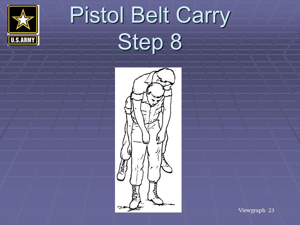 Viewgraph 23 Pistol Belt Carry Step 8