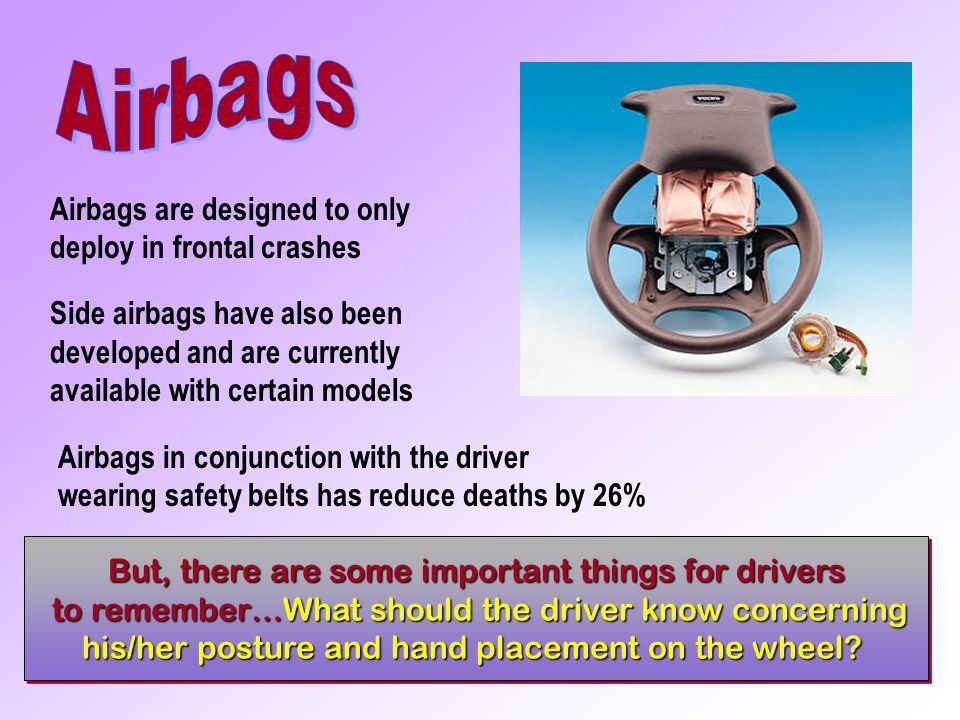 With Airbag Without Airbag