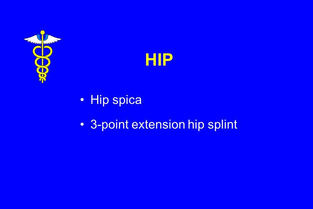 HIP Hip spica 3-point extension hip splint