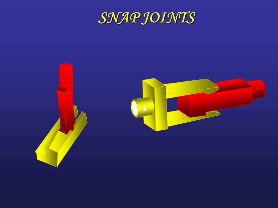 out line  INTRODUCTION  MECHANICALLY FASTENED JOINTS  SNAP JOINTS  BONDED JOINTS  HYBRID JOINTS  CONCLOUSIONS