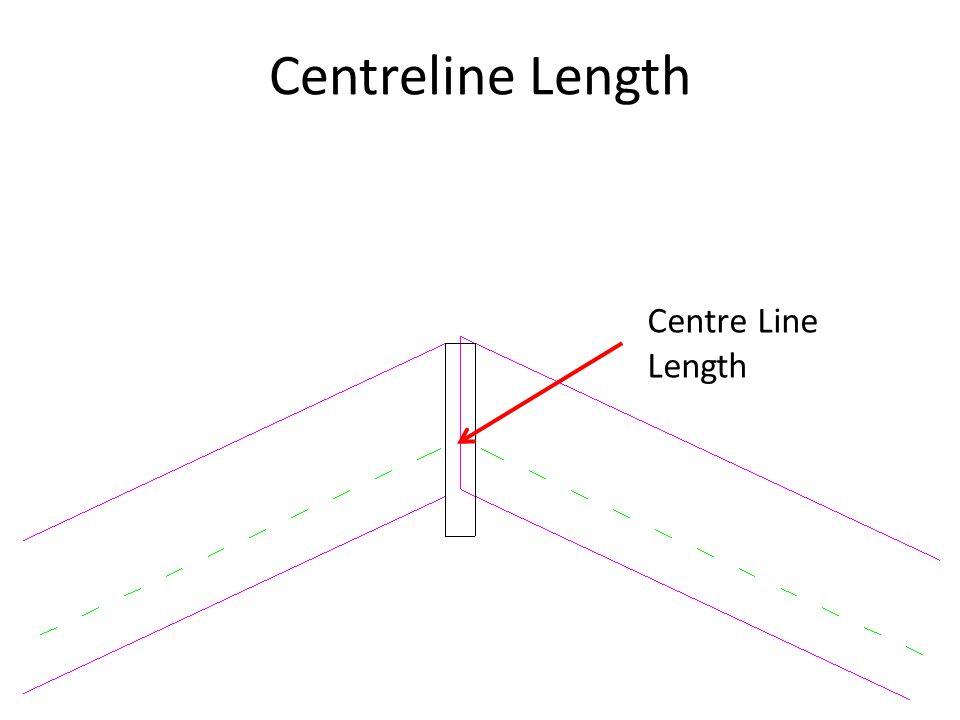 Centreline Length Centre Line Length