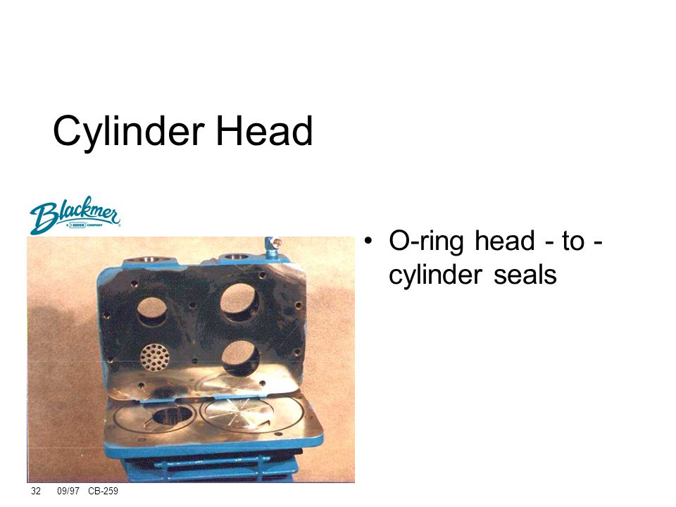 31 09/97 CB-259 Standard Intercooler The intercooler is readily unbolted from the cylinder head at two locations.