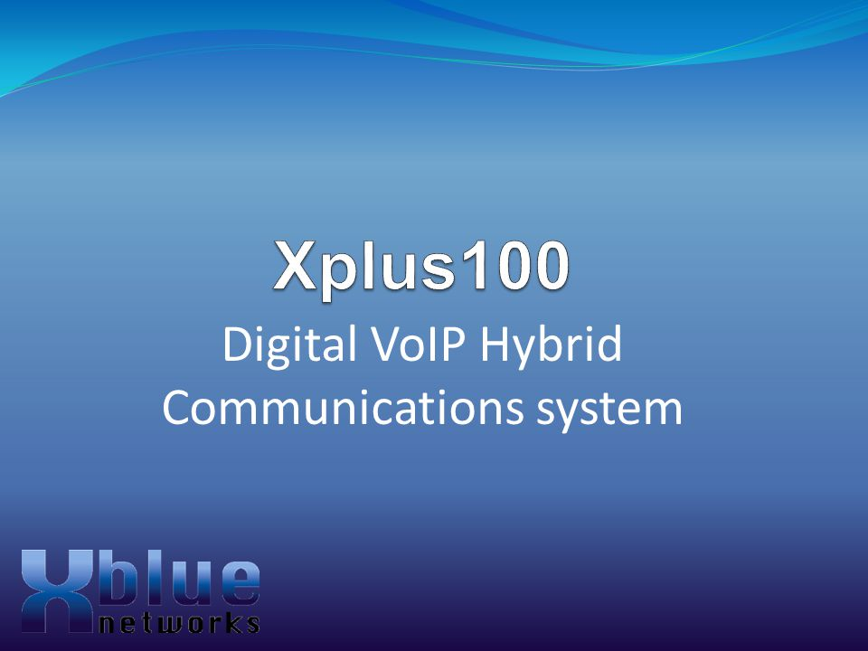 Digital VoIP Hybrid Communications system