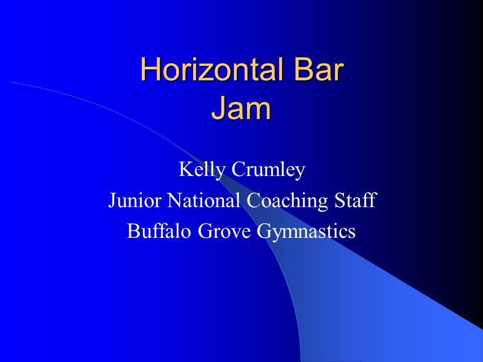 Horizontal Bar Jam Kelly Crumley Junior National Coaching Staff Buffalo Grove Gymnastics