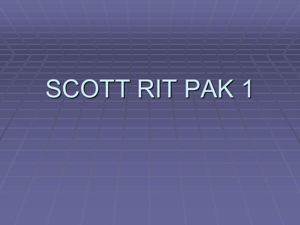 SCOTT RIT PAK 1