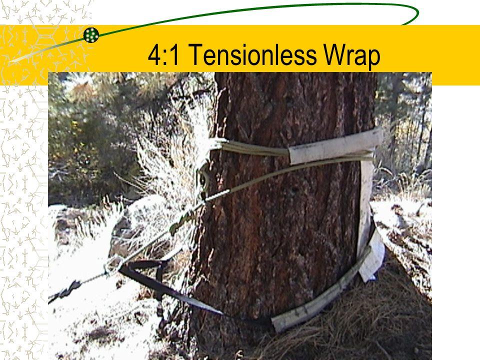 4:1 Tensionless Wrap