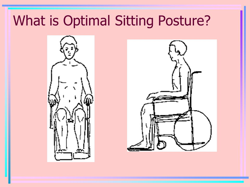 What is Optimal Sitting Posture
