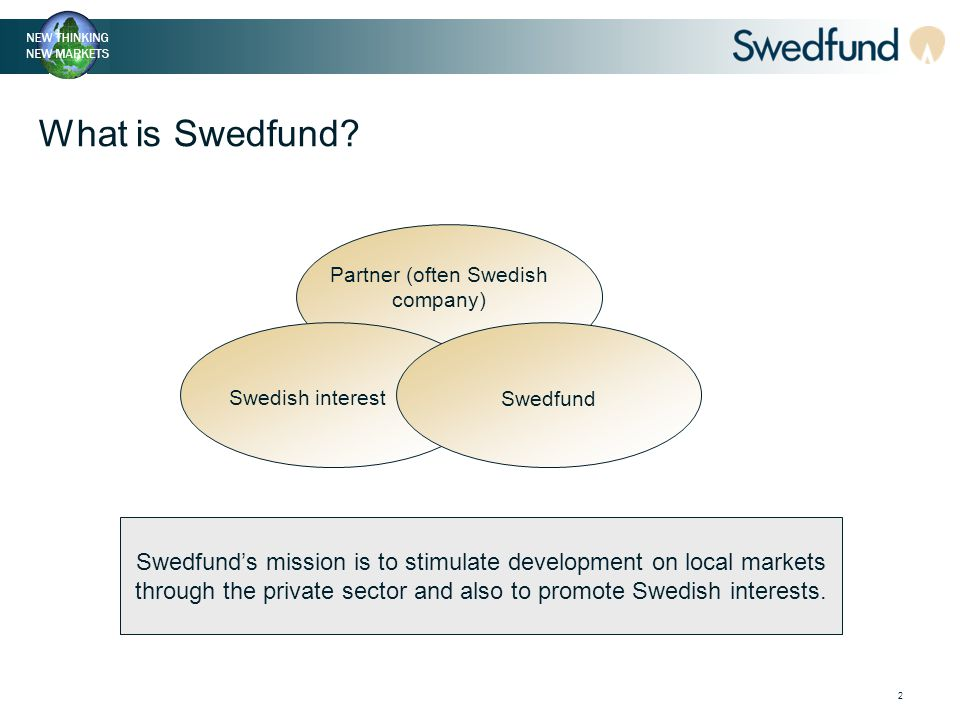 2 What is Swedfund.