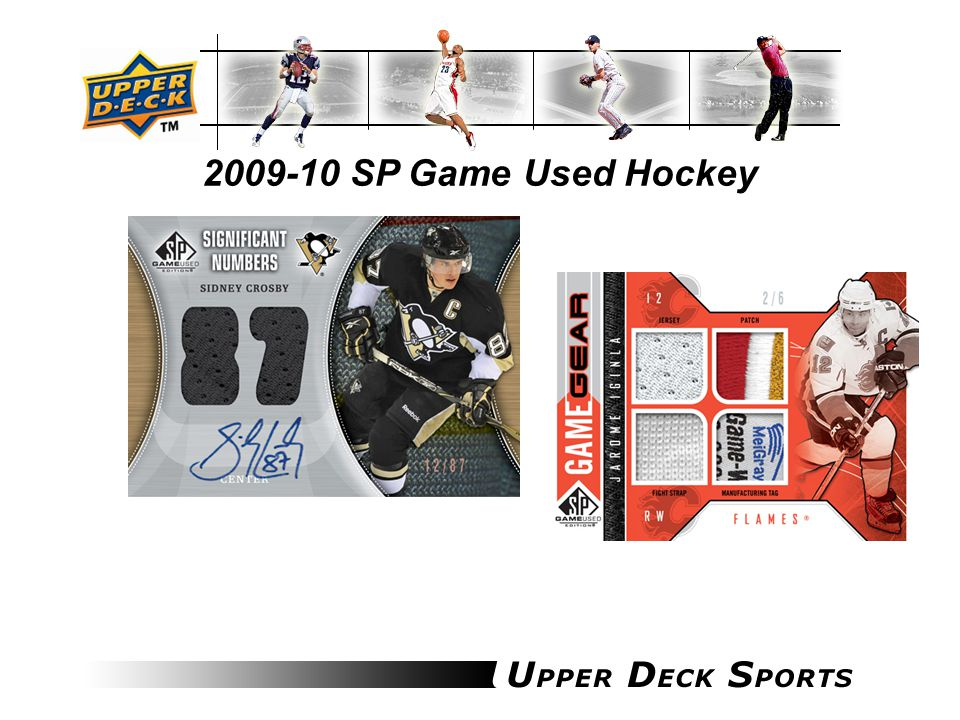 2009-10 SP Game Used Hockey