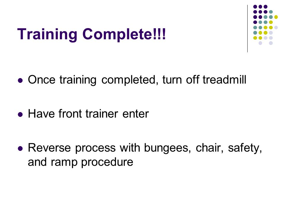 Training Complete!!.