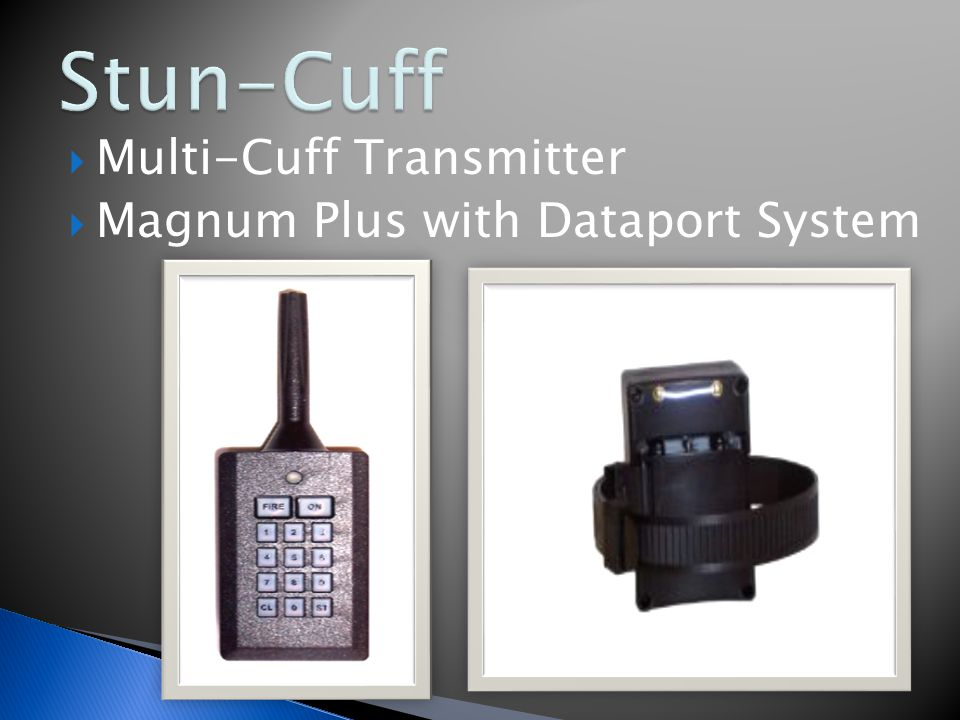  When can the Stun Cuff be applied to an offender?