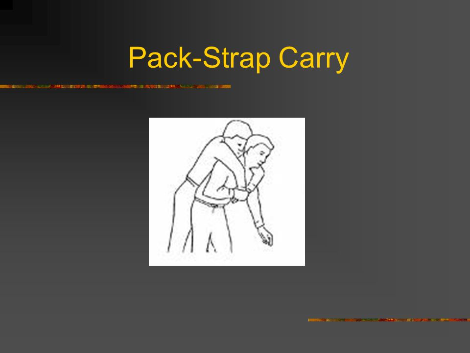 Pack-Strap Carry