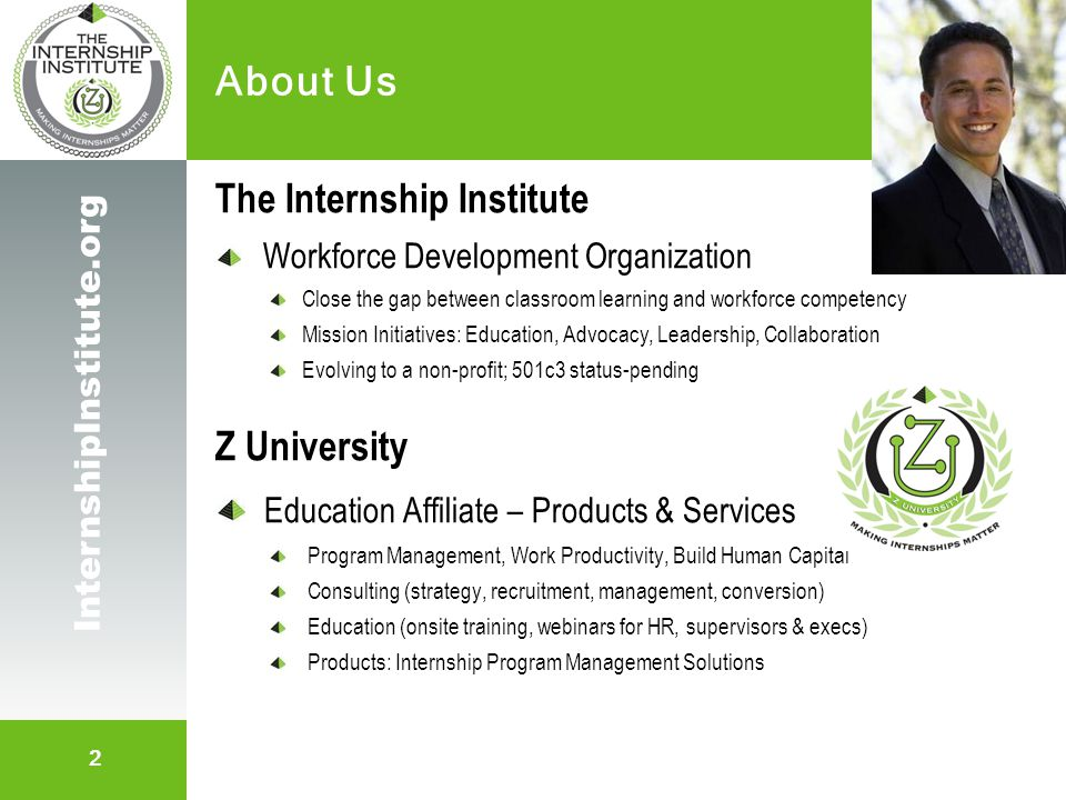 13 InternshipInstitute.org The Internship LEAP Plan Little Progress in Election Year Strap on the backs of our capable emerging workforce.