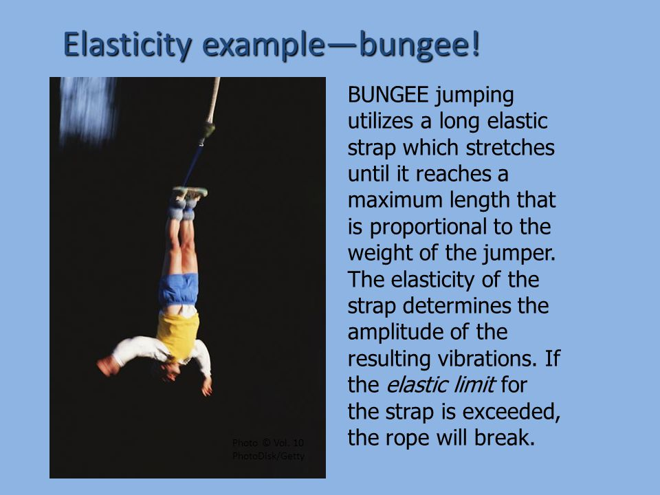 Elastic Potential Energy oRubber band—stretching it stores energy oPaddle ball—elastic band stores energy, then transfers from paddle to ball.