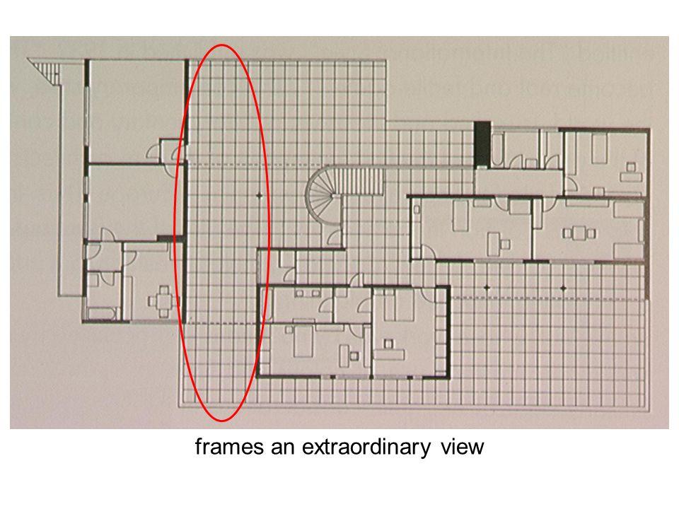 frames an extraordinary view