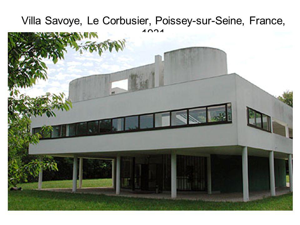 Villa Savoye, Le Corbusier, Poissey-sur-Seine, France, 1931
