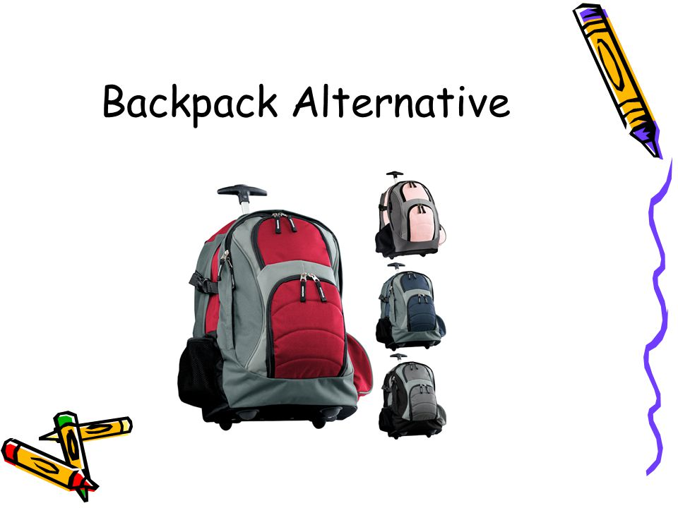 Backpack Alternative