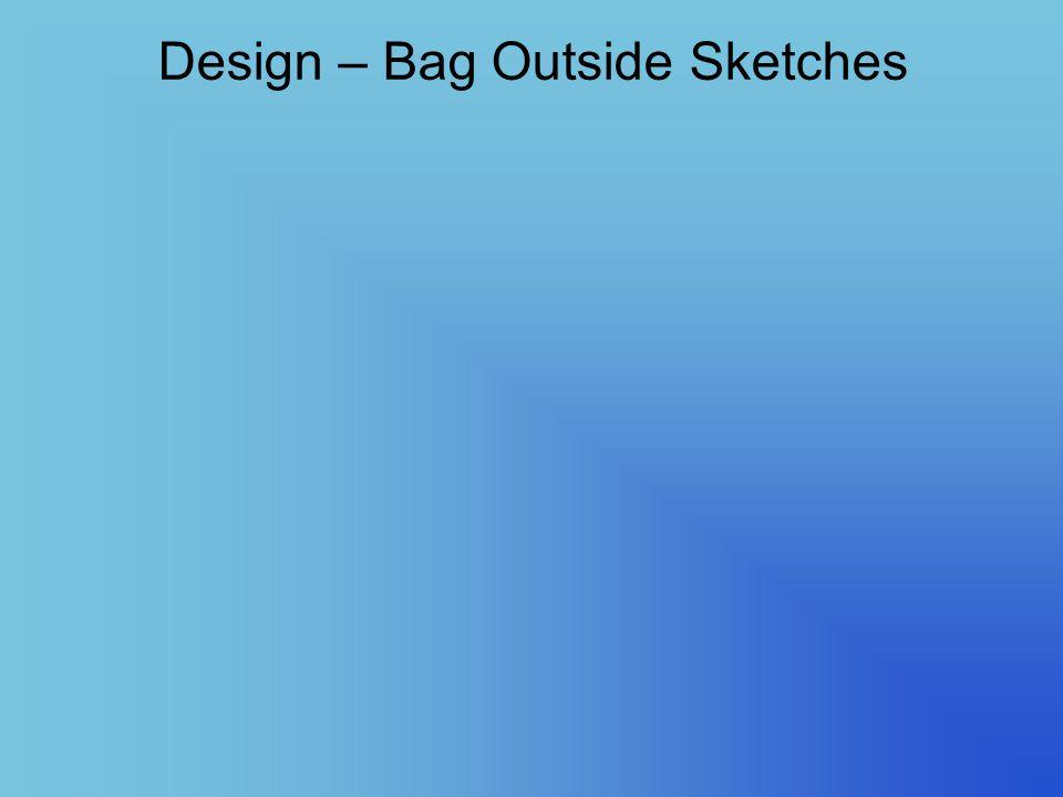 Design – Bag Outside Sketches