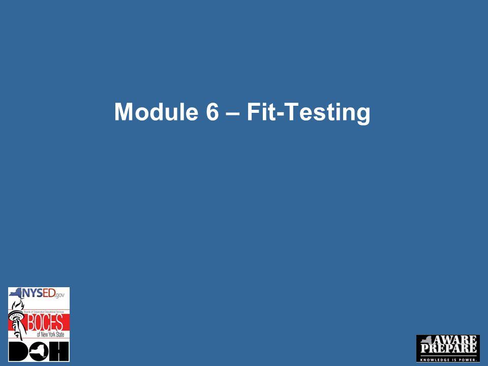 Module 6 – Fit-Testing