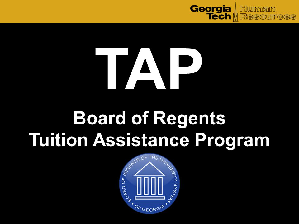 TAP Board of Regents Tuition Assistance Program