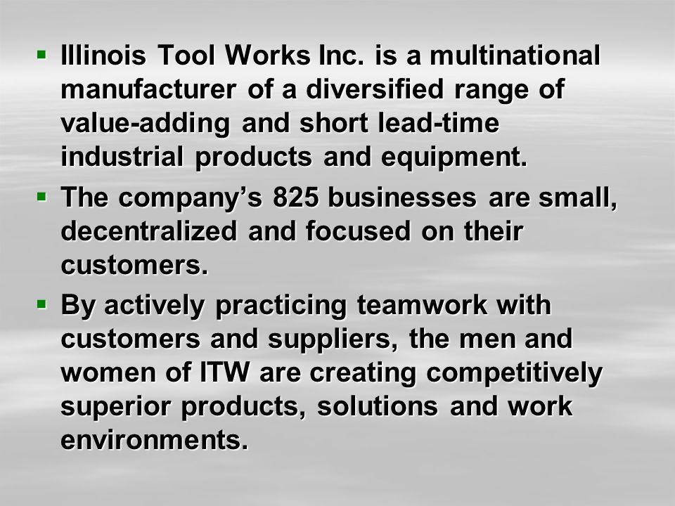  Illinois Tool Works Inc.