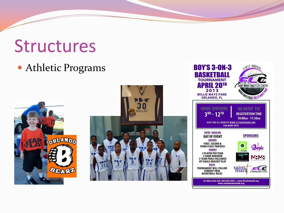Structures Athletic Programs