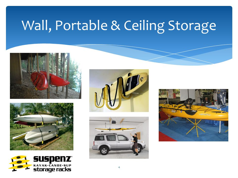 Wall, Portable & Ceiling Storage 4