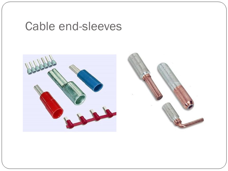 Cable end-sleeves