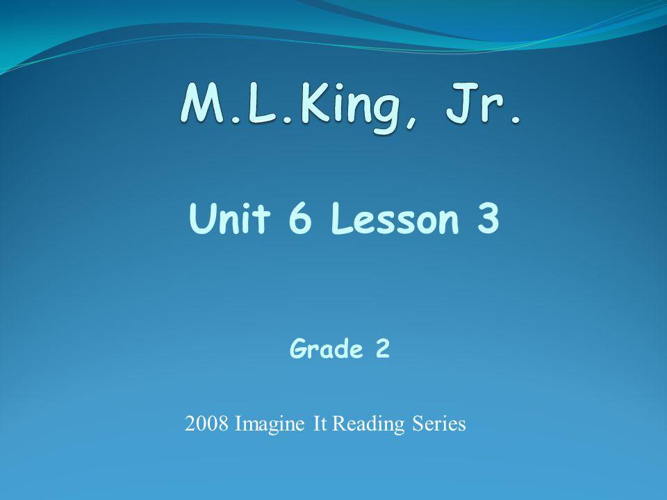 Unit 6 Lesson 3 Grade 2 2008 Imagine It Reading Series