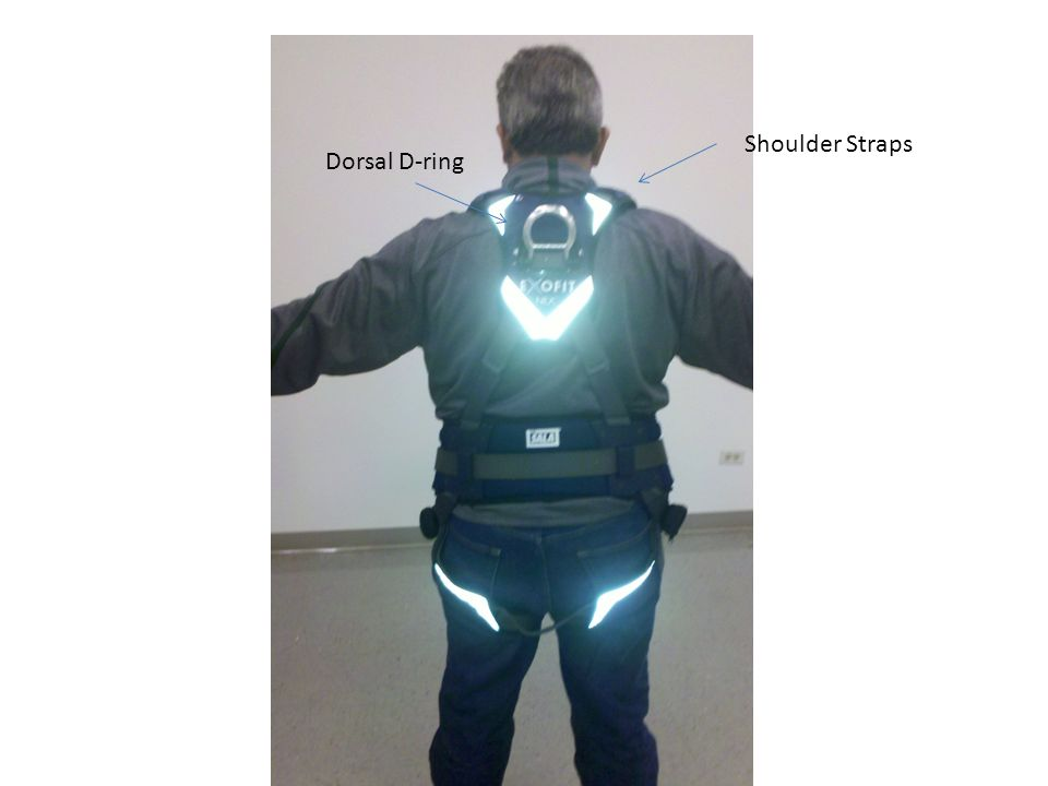 Dorsal D-ring Shoulder Straps