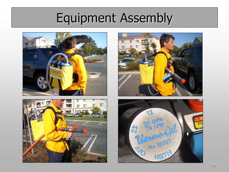 10 Equipment Assembly