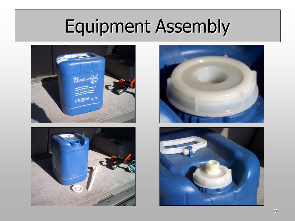 7 Equipment Assembly