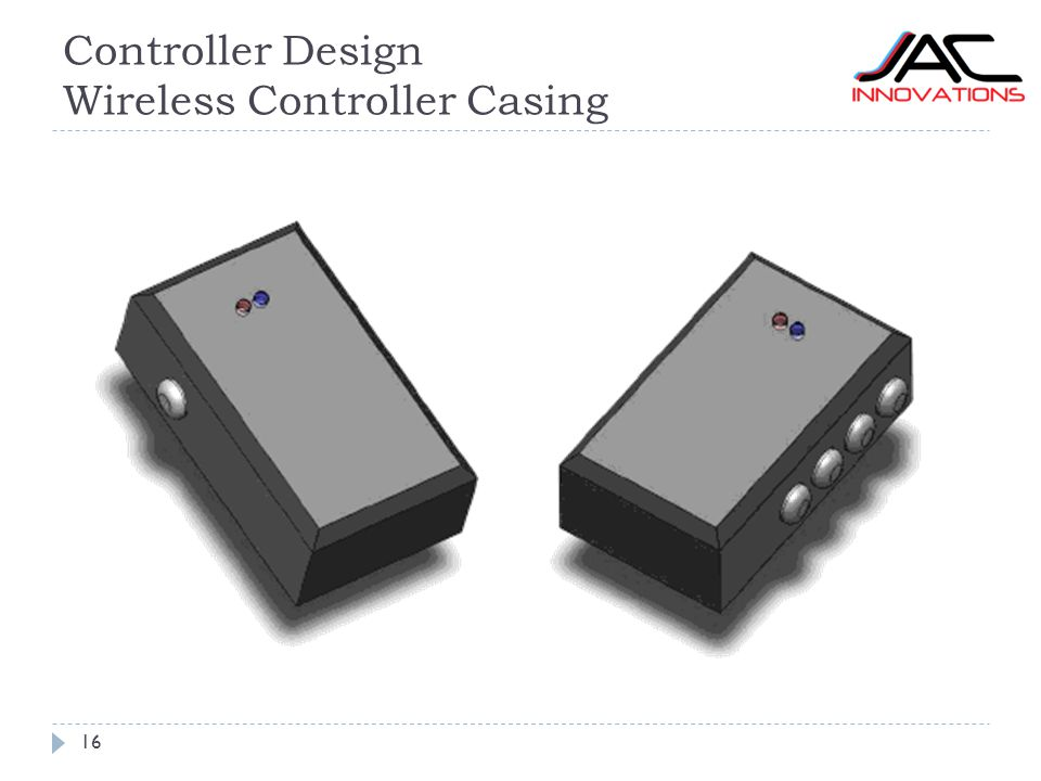 Controller Design Wireless Controller Casing 16