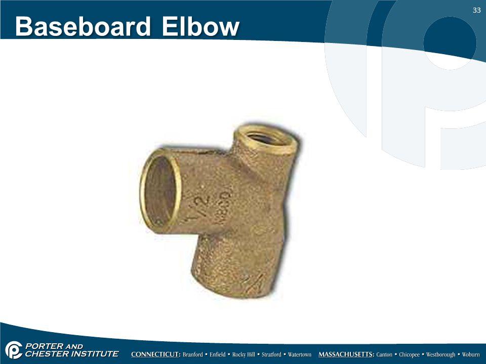 33 Baseboard Elbow