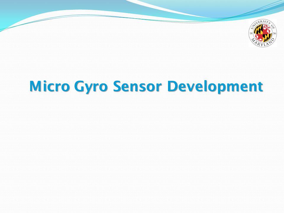 Micro Gyro Sensor Development