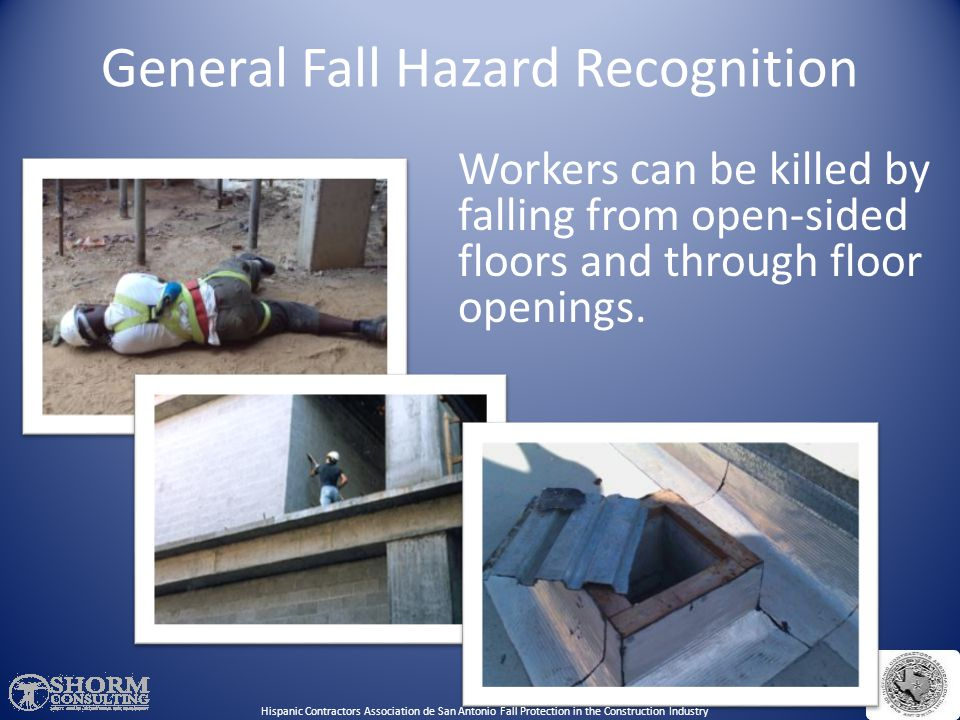 Laws & Regulations 29 CFR 1926, Subpart M- Fall Protection Standard for Construction. 29 CFR 1926.501(b)(13)- Residential Fall Protection. It has alwa