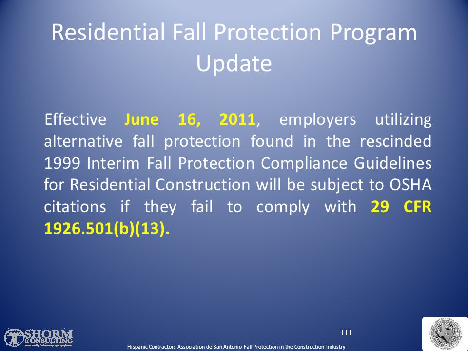 STD 03-11-002, Compliance Guidance for Residential Construction was issued December 16, 2010. STD 03-11-002 rescinds STD 03-00-001, dated June 18, 199