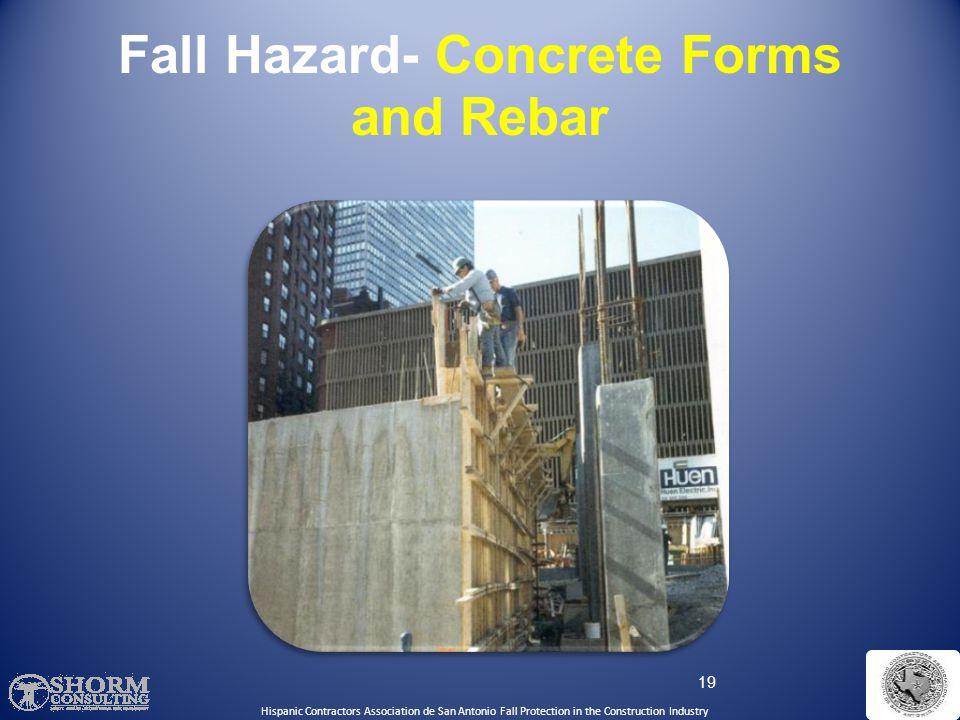 18 Fall Hazard- Floor Holes Hispanic Contractors Association de San Antonio Fall Protection in the Construction Industry