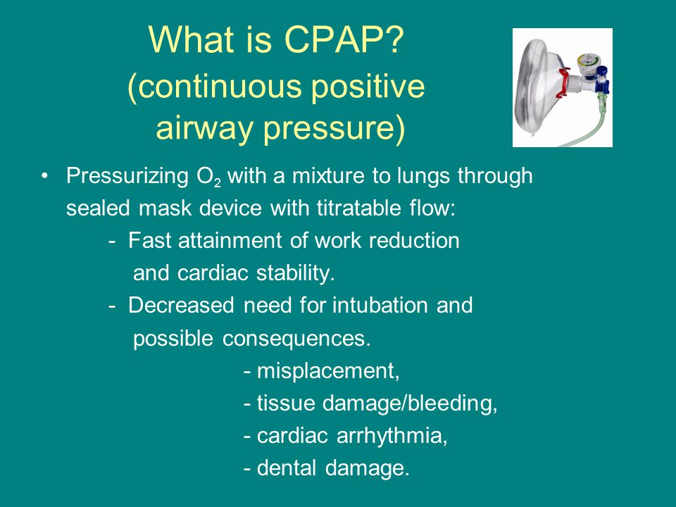 What is CPAP.