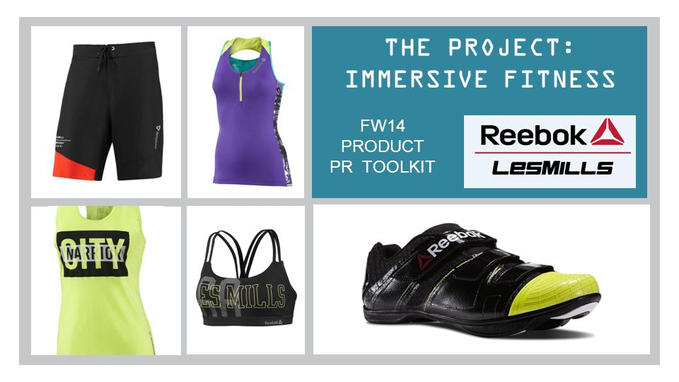 THE PROJECT: IMMERSIVE FITNESS FW14 PRODUCT PR TOOLKIT