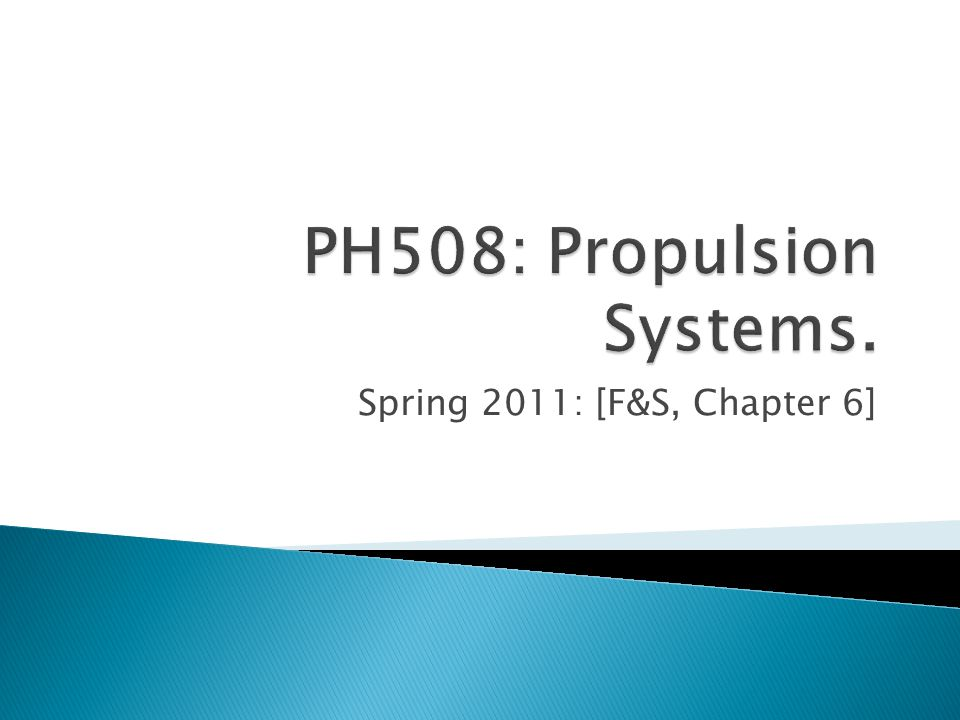 Spring 2011: [F&S, Chapter 6]