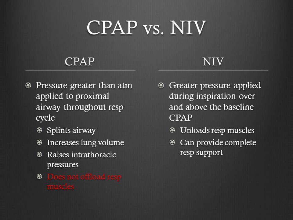 CPAP vs.
