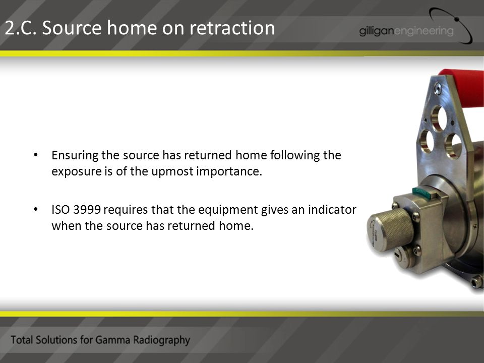 Ensuring the source has returned home following the exposure is of the upmost importance.