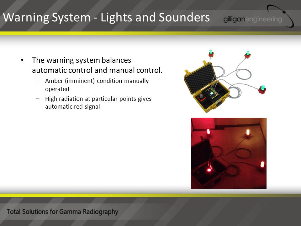 The warning system balances automatic control and manual control.